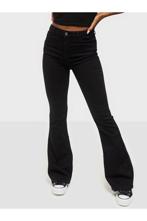 Missguided Lawless Flare Jeans
