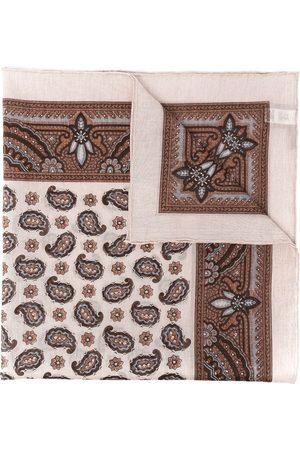 ELEVENTY Miehet Huivit - Paisley-print cotton scarf