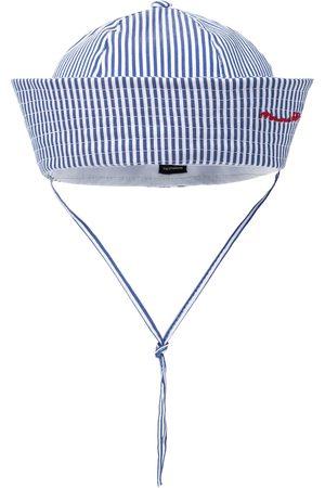 MONNALISA Lippikset - Stretch-cotton striped cap