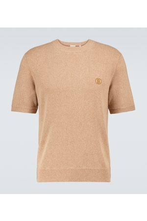 Burberry Linden knitted cashmere T-shirt