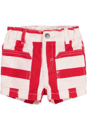 Stella McCartney Baby striped denim shorts
