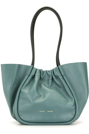 Proenza Schouler Smooth ruched tote bag