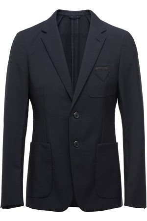 Prada Fitted button blazer