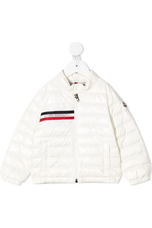 Moncler Logo-stripe padded jacket