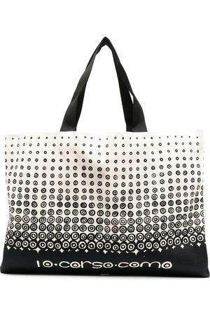 10 CORSO COMO Eos logo-print tote bag