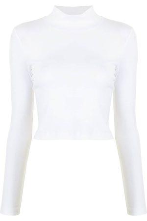 ROSETTA GETTY Roll neck cotton T-shirt