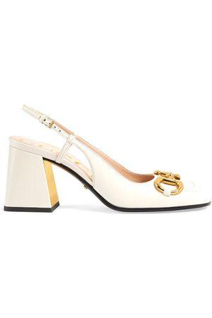 Gucci Naiset Avokkaat - Horsebit mid-heel slingback pumps