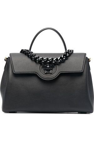 VERSACE Naiset Ostoskassit - Large chain handle tote bag