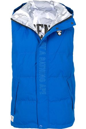 AAPE BY A BATHING APE Miehet Liivit - Embroidered logo padded gilet