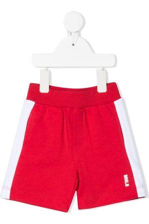 MONNALISA Cotton side-stripe shorts
