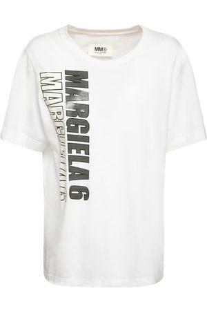 MM6 MAISON MARGIELA Printed Cotton Jersey T-shirt