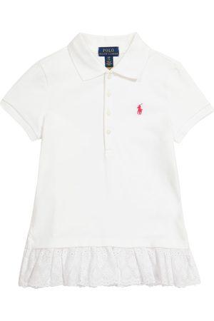 Polo Ralph Lauren Kids Logo stretch-cotton piqué polo shirt