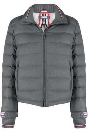 Thom Browne Padded funnel neck jacket