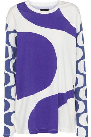 Isabel Marant, Étoile Leilo printed cotton top