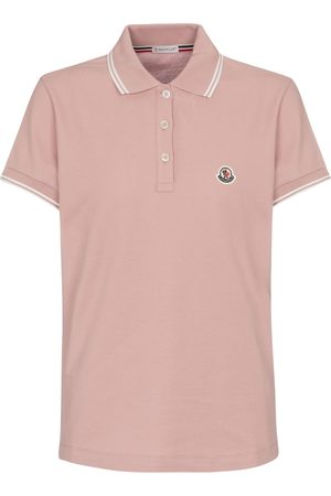 Moncler Naiset Pikee - Cotton piqué polo shirt