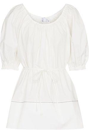 Proenza Schouler White Label puff-sleeve cotton top
