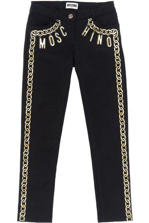 Moschino Printed Satin Pants