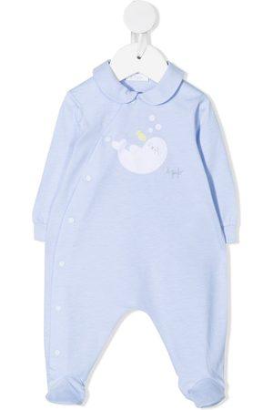 Il Gufo Pyjamat - Embroidered seal pyjamas