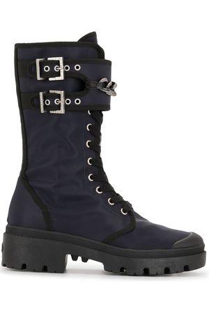 Madison.Maison Naiset Nauhalliset saappaat - Lace-up mid-calf boots