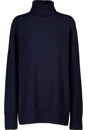 The Row Naiset Poolopaidat - Milina turtleneck wool and cashmere sweater