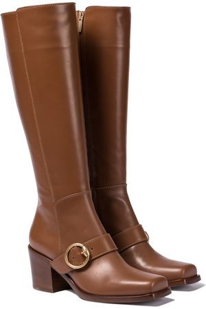Gianvito Rossi Wayne 60 leather knee-high boots