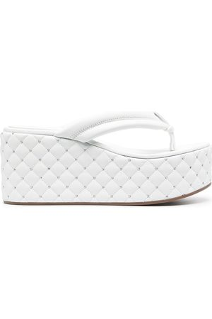 Le Silla Naiset Sandaletit - Quilted platform sandals