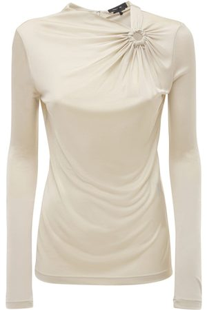 Isabel Marant Dwester Draped Jersey Top