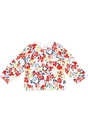 Bonpoint Neuletakit - Baby floral cotton cardigan