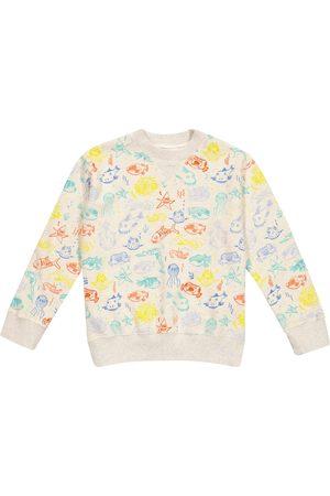 Bonpoint Printed cotton jersey sweatshirt