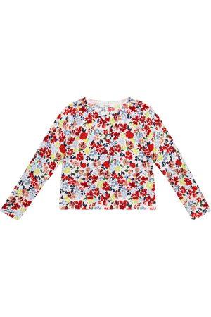 Bonpoint Tytöt Neuletakit - Floral cotton cardigan