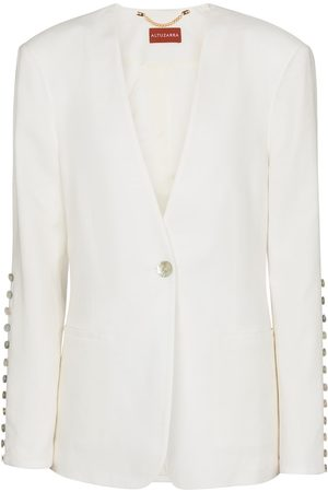 Altuzarra Naiset Bleiserit - Fern linen-blend blazer