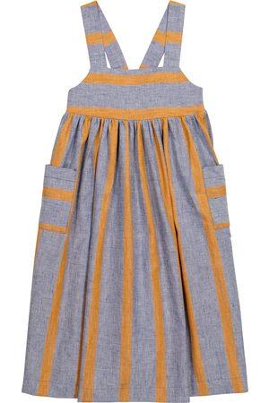Paade Mode Sasha striped linen-blend dress