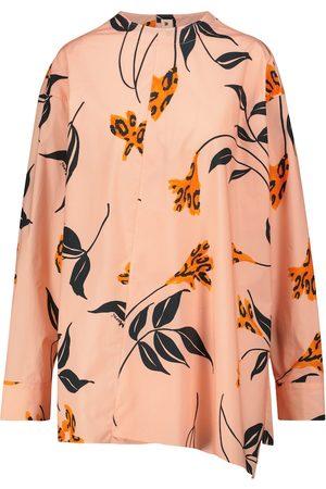 Marni Naiset Pitkähihaiset - Floral cotton shirt