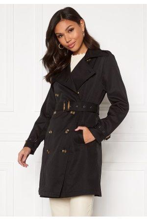 Chiara Forthi Moneglia Trench Coat Black S