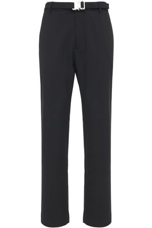 1017 ALYX 9SM Miehet Housut - Wool Blend Suit Pants W/ Metal Buckle