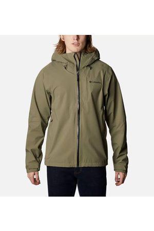 Columbia Miehet Päällystakit - Men's Ampli-Dry Waterproof Shell Jacket Omni-Tech L