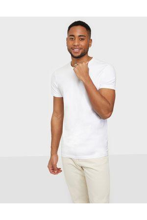 Casual Friday David crew neck t-shirt T-paidat ja topit Bright White