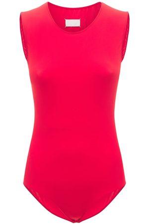 Maison Margiela Naiset Hihattomat - Technical Jersey Sleeveless Bodysuit