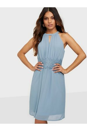 Vila Vimilina Halterneck Dress/Su - Noos Ashley Blue