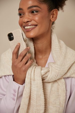 NA-KD Naiset Puhelinkuoret - Croc Phone Case
