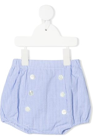Siola Striped button-up shorts