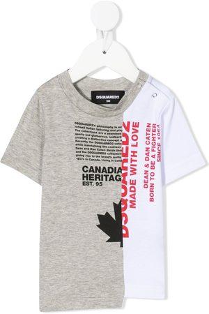 Dsquared2 Split logo-print T-shirt
