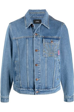 PACCBET Rassvet-embroidered denim jacket