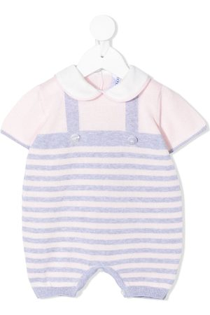 SIOLA Striped short-sleeve rompers