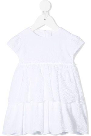 Il gufo Vauvat Rennot Mekot - Tiered cap sleeve dress