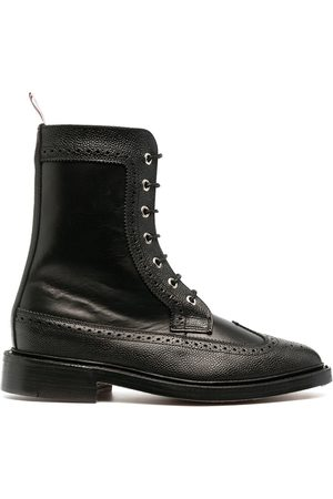 Thom Browne Brogue-detail ankle boots