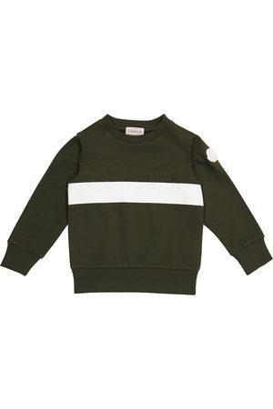 Moncler Logo cotton jersey sweatshirt
