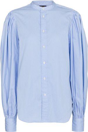 Polo Ralph Lauren Naiset Pitkähihaiset - Striped cotton shirt