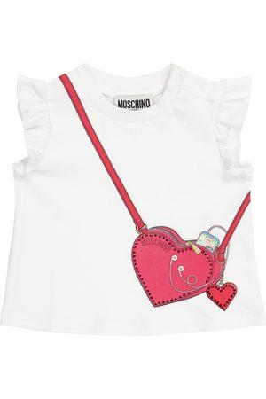 Moschino Baby stretch-cotton T-shirt