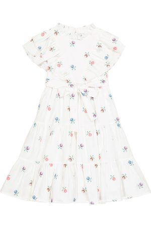 PAADE Tytöt Kesämekot - Alice linen and cotton-blend dress